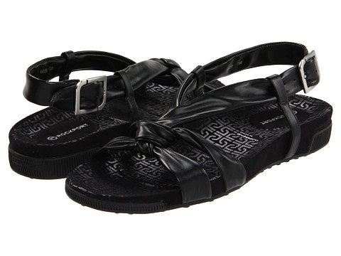 Rockport - Jada Tubular Backstrap (Black) Women's Sandals