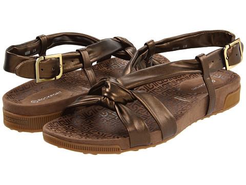Rockport - Jada Tubular Backstrap (Bronze) Women's Sandals