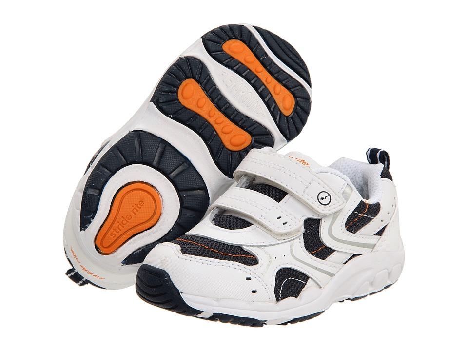 Stride Rite - Carson HL (Toddler) (Navy/White) Boys Shoes