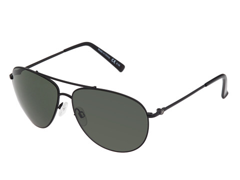 VonZipper - Wingding (Black Satin/Grey Lens) Sport Sunglasses