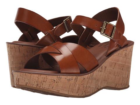 Kork-Ease Ava (Rust) Womens Wedge Shoes