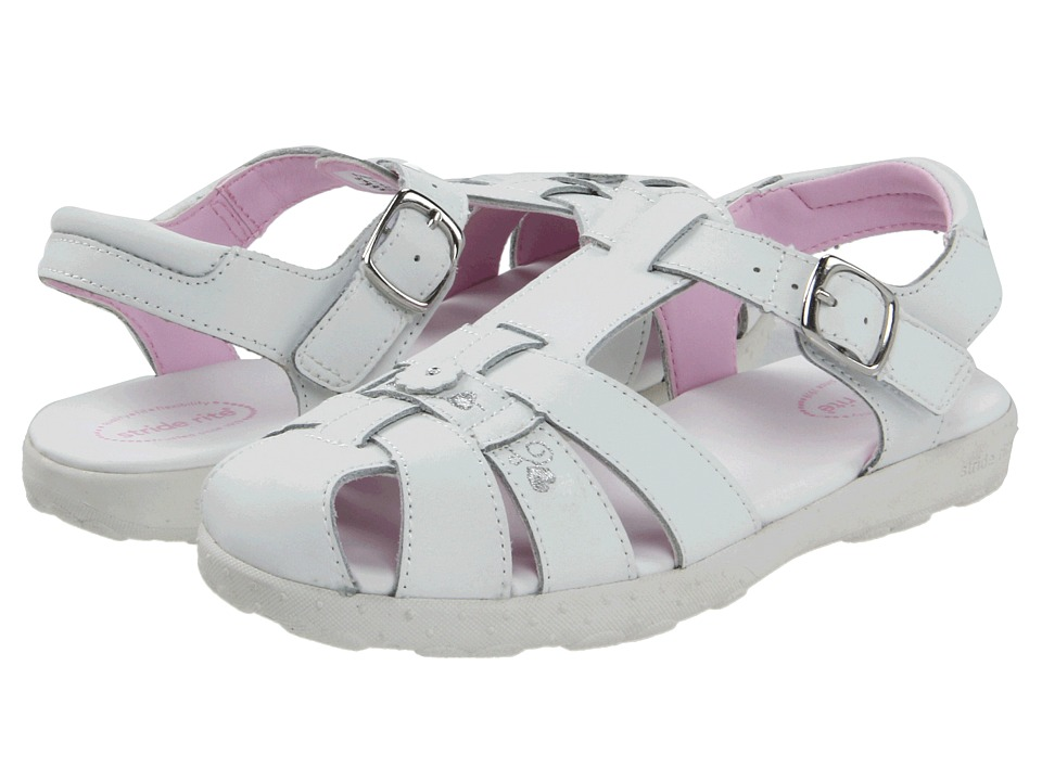 Stride Rite - Summer (Little Kid) (White) Girls Shoes