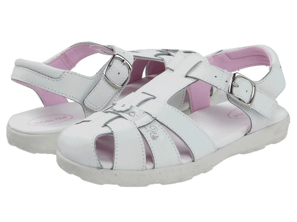 Stride Rite - Summer (Little Kid) (White) Girls Shoes