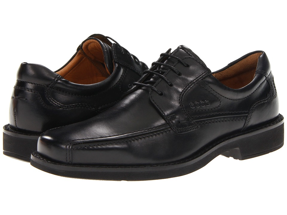 ECCO - Seattle Bicycle Toe Tie (Black) Men's Lace up casual Shoes