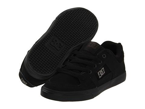DC Kids - Pure (Little Kid/Big Kid) (Black/Pirate Black) Boys Shoes