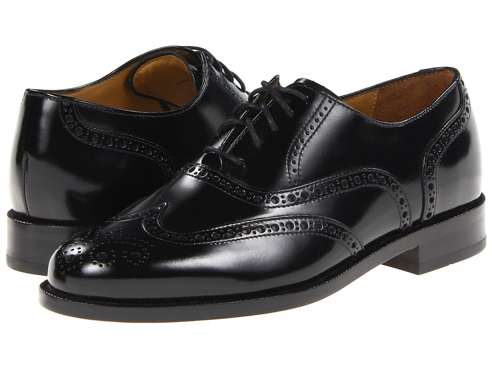 Cole Haan - Connolly (Black) Men's Lace Up Wing Tip Shoes