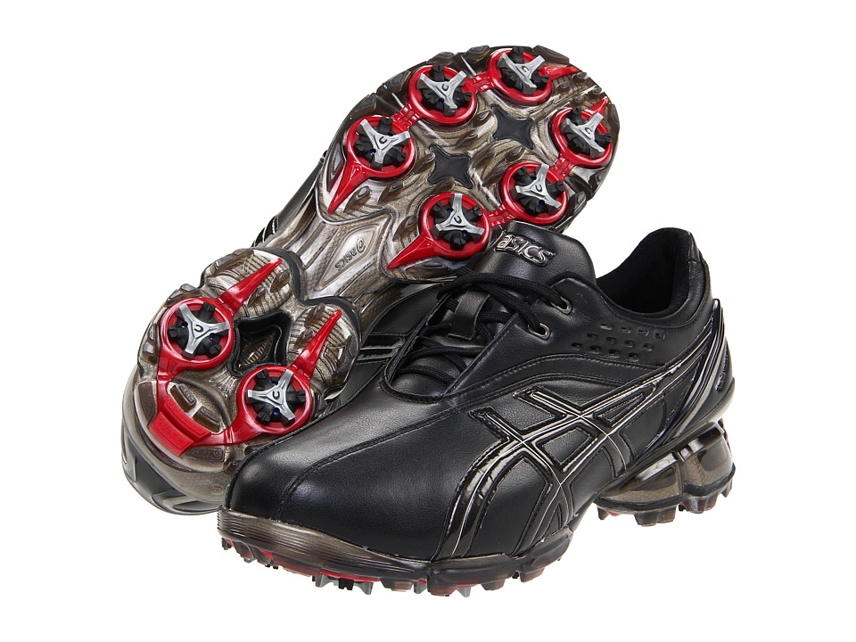 ASICS - GEL-Ace Pro (Black/Silver) Men's Golf Shoes