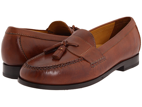 Cole Haan - Pinch Air Tassel (Saddle Tan) Men's Slip-on Dress Shoes