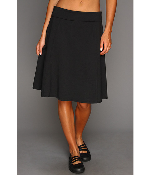 Royal Robbins - Essential Rollover Skirt (Jet Black) Women