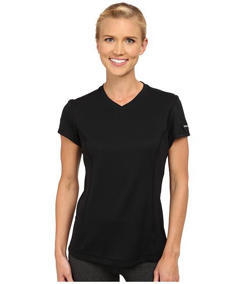 Merrell - Leota Tee (Black) Women's Short Sleeve Pullover