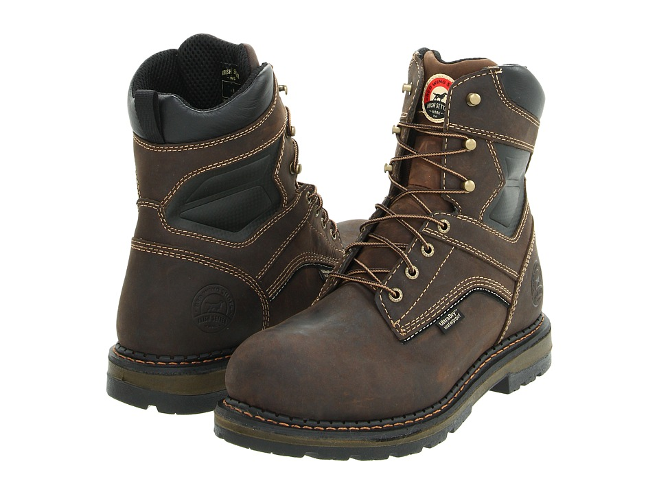 Irish Setter - 83801 8 Waterproof Boot (Brown) Men's Work Boots