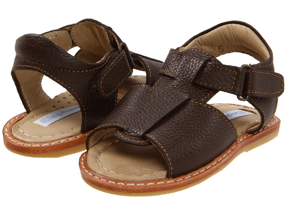 Elephantito - Boy Sandal (Infant/Toddler) (Chocolate) Boy's Shoes