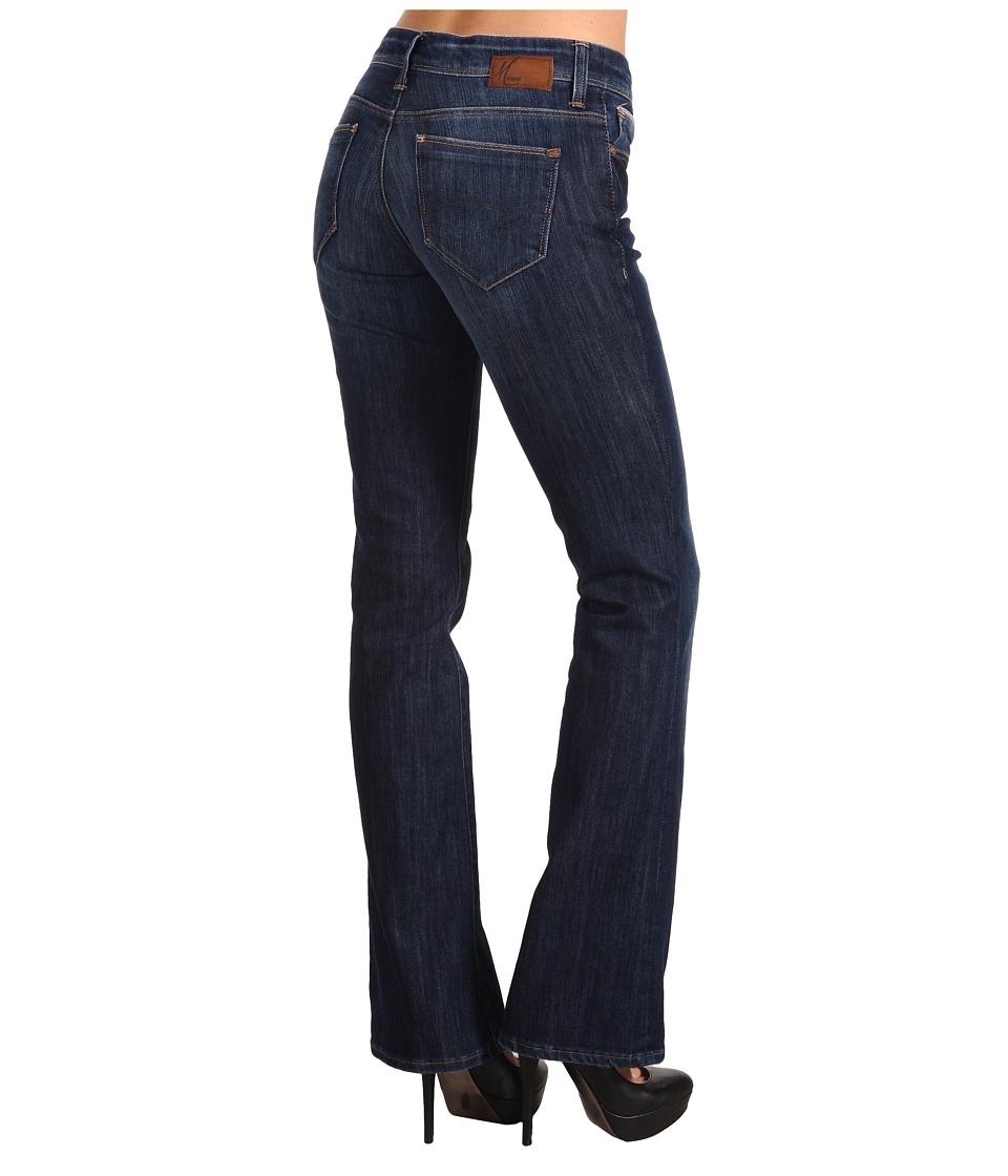 Mavi Jeans Molly Mid-Rise Bootcut in Indigo Bloomsbury (Indigo Bloomsbury) Women