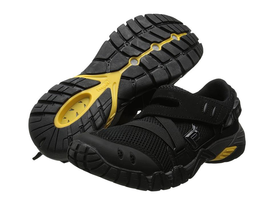 Propet - Explorer (Black/Dark Grey) Men's Hook and Loop Shoes