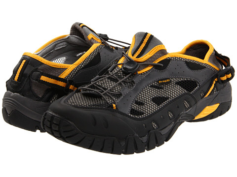 Propet - Endurance (Black/Grey/Yellow) Men