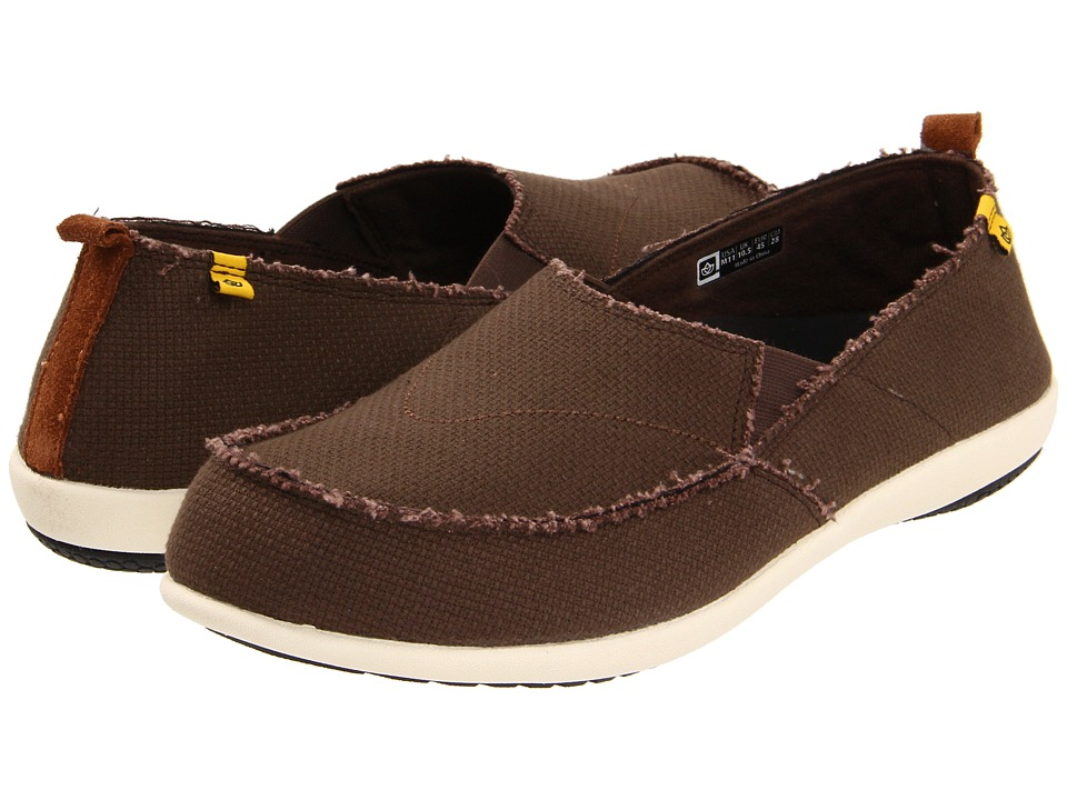 Spenco - Siesta (Java) Men's Toe Open Shoes