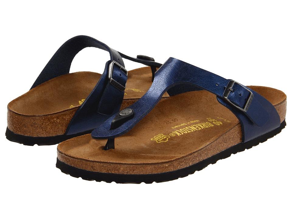 Birkenstock - Gizeh Birko-Flor (Insignia Blue Birko-Flor ) Women's Sandals