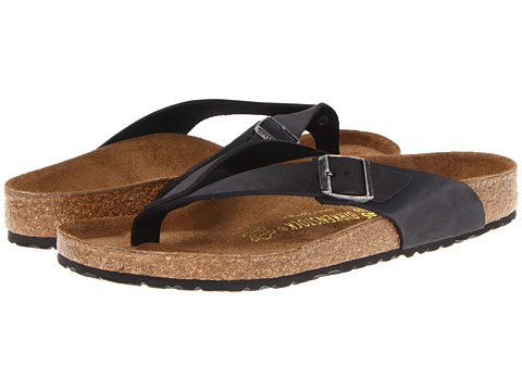 Birkenstock - Adria (Black Oiled Leather) Sandals