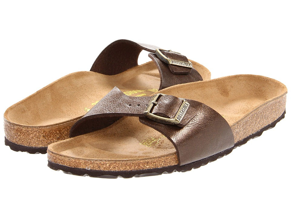 Birkenstock - Madrid Slip-On (Toffee Birko-Flor ) Women's Sandals