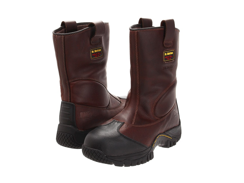 Dr. Martens - Outland ST Rigger Boot (Teak Industrial Trailblazer) Men's Work Pull-on Boots