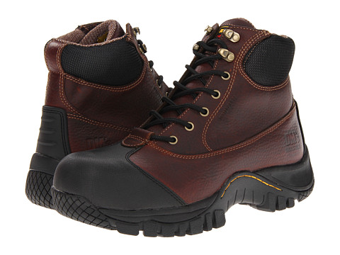 Dr. Martens Work - Heath ST 7 Tie Boot (Teak Industrial Trailblazer) Men's Work Lace-up Boots