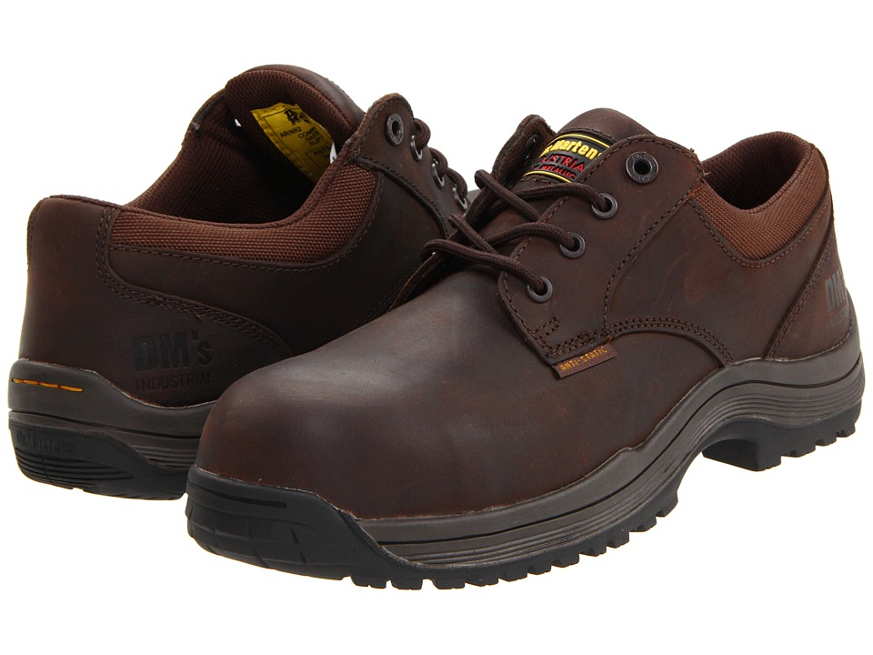 Dr. Martens Work - Hawk SD 4 Eye Shoe (Gaucho Volcano) Men's Industrial Shoes
