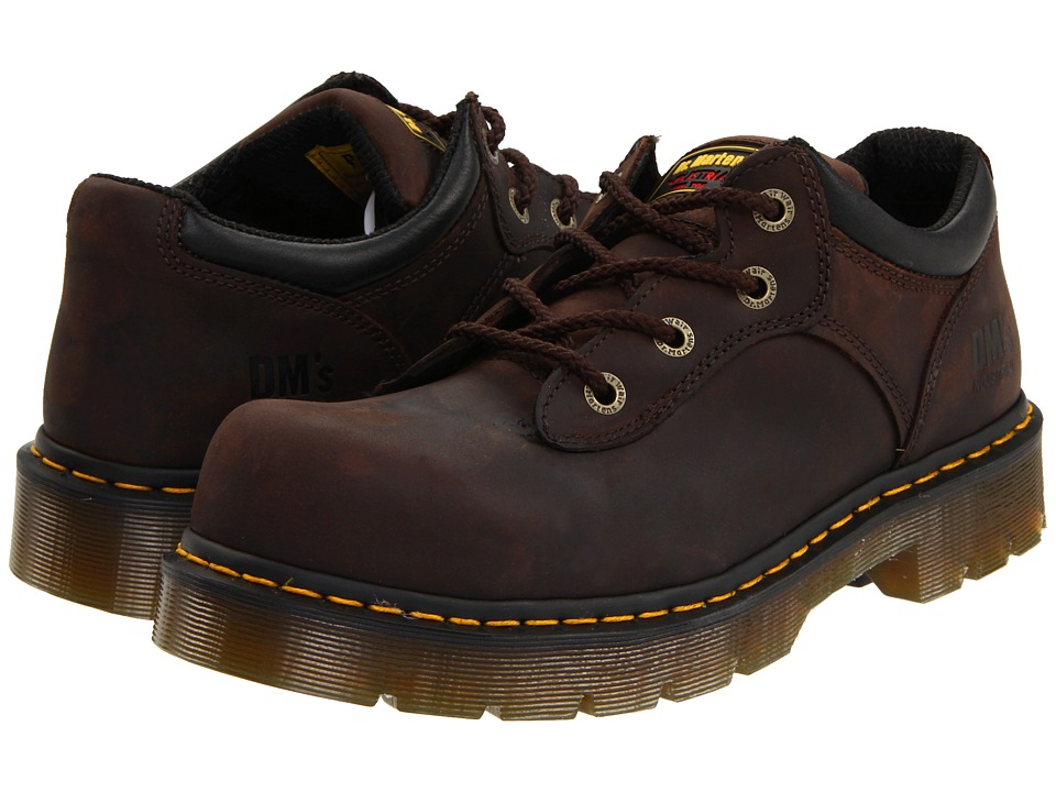 Dr. Martens - Naseby ST 4 Tie Shoe (Gaucho Volcano) Industrial Shoes
