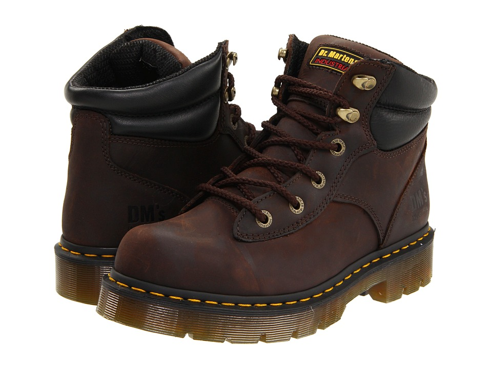 Dr. Martens - Burnham NS 6 Tie Boot (Gaucho Volcano) Work Lace-up Boots