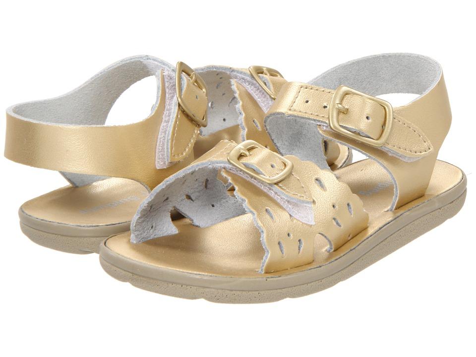 Jumping Jacks Kids - Sunrise (Toddler/Little Kid) (Soft Gold Leather) Girls Shoes