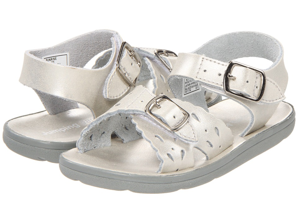 Jumping Jacks Kids - Sunrise (Toddler/Little Kid) (Soft Silver Leather) Girls Shoes