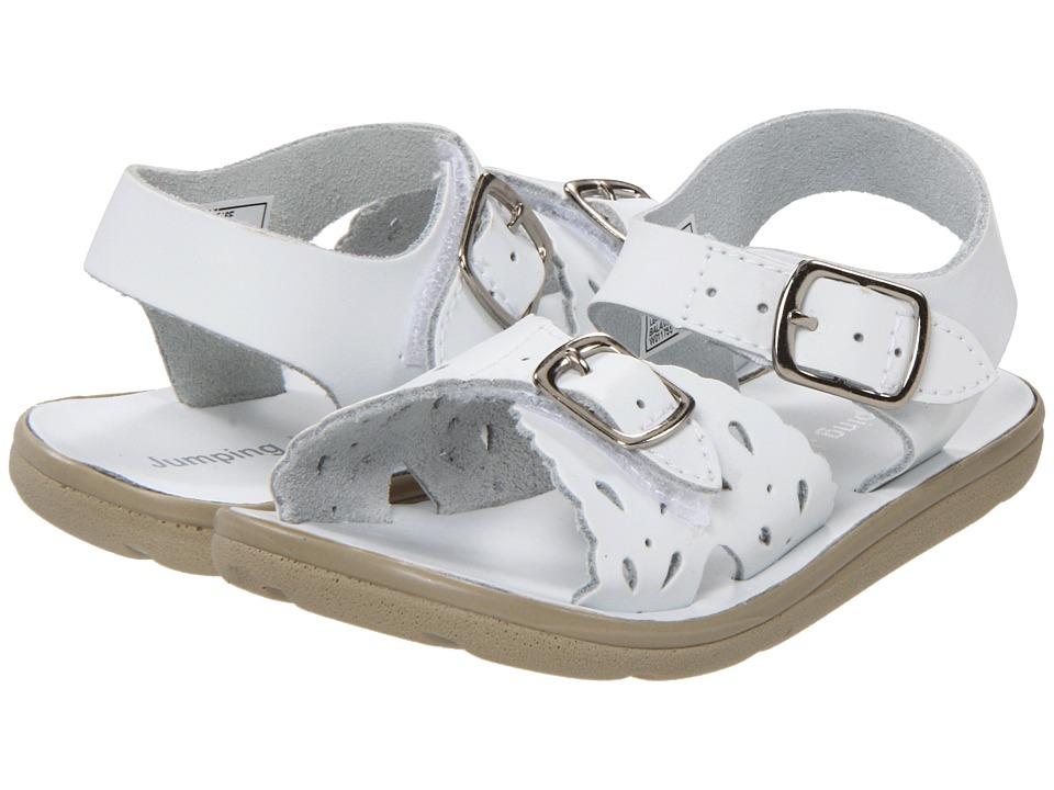 Jumping Jacks Kids - Sunrise (Toddler/Little Kid) (White Leather) Girls Shoes