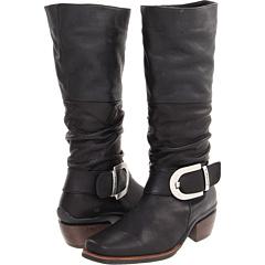 Wolky La Banda (Black Leather) Footwear