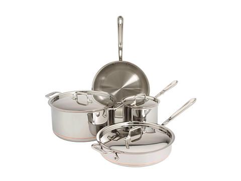 UPC 011644600723 AllClad CopperCore 7 Piece Cookware Set