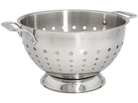 All-Clad 5 Qt. Colander (Stainless Steel) Individual Pieces Cookware