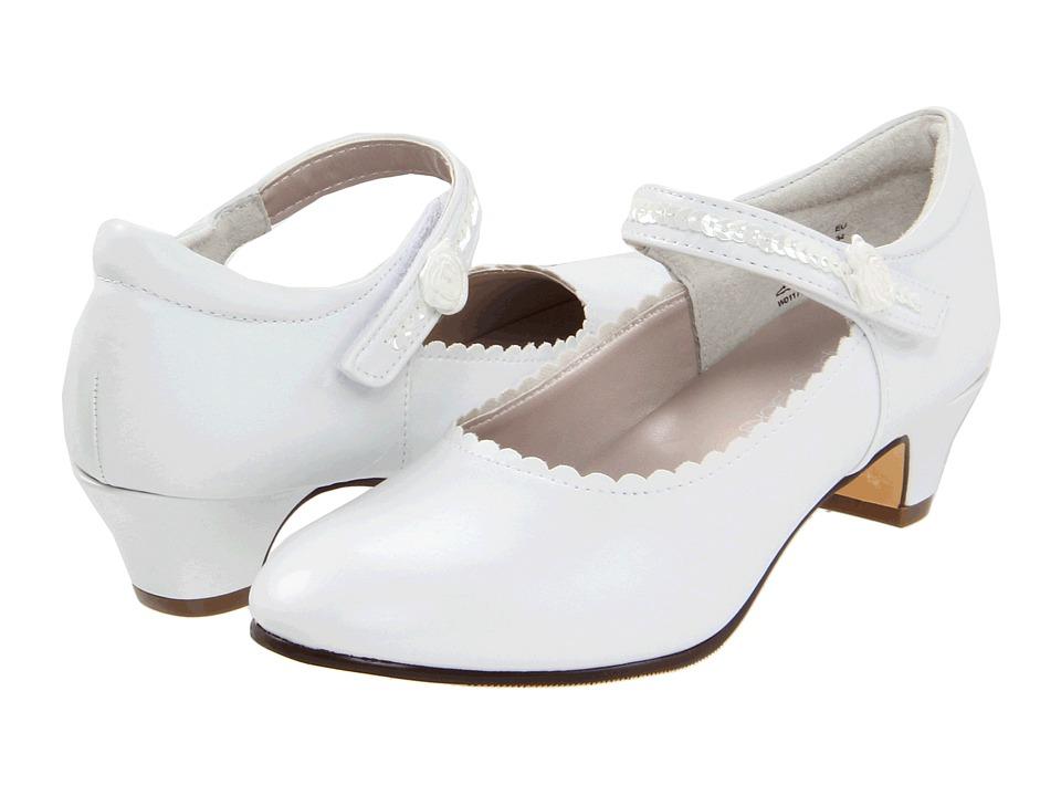 Jumping Jacks Kids - Dianna (Little Kid/Big Kid) (White Smooth) Girls Shoes
