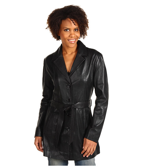 Scully - Lambskin Jacket (Black Lamb) Women's Jacket