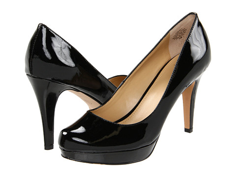Circa Joan & David - Pearly (Black Patent) High Heels