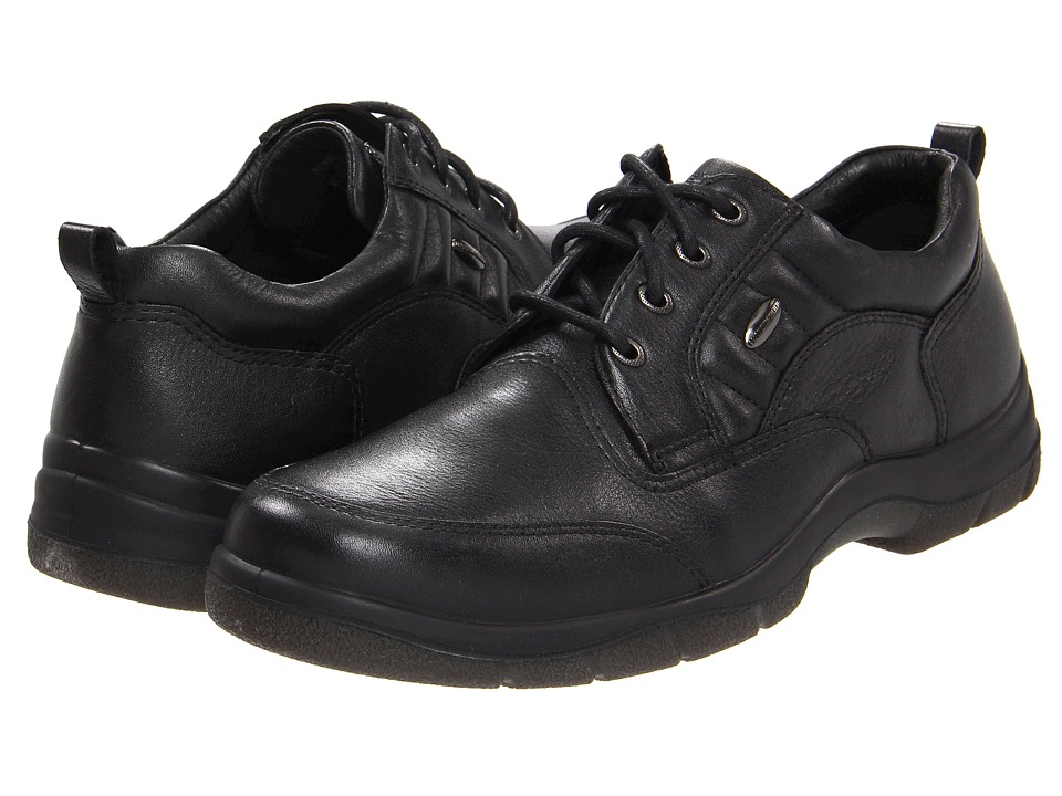Hush Puppies - Stamina (Black Leather) Men's Shoes