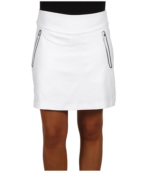 Nike Golf - No Sew Knit Skort (White) Women's Skort