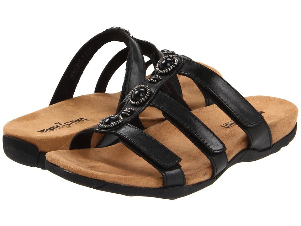 Minnetonka - Wilshire (Black) Women's Sandals