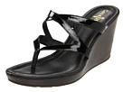 Cole Haan - Air Jaynie Thong (Black Patent) - Cole Haan Shoes