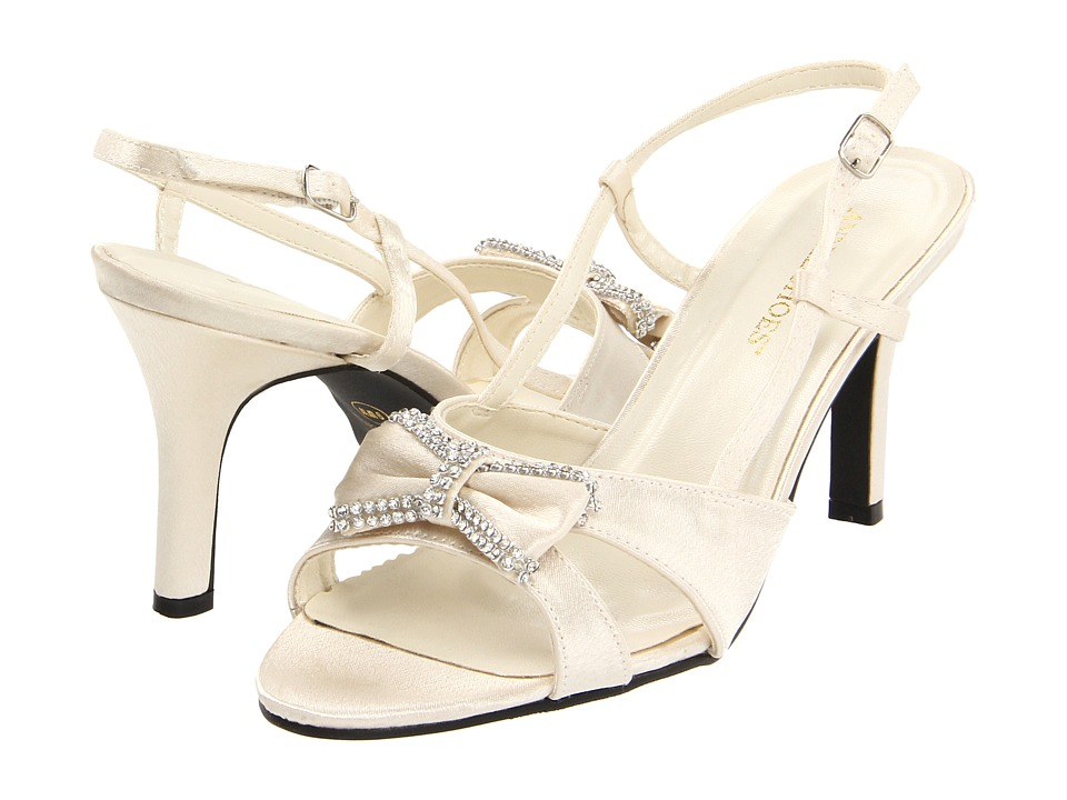 Annie - Cheri (Ivory) Women's Toe Open Shoes