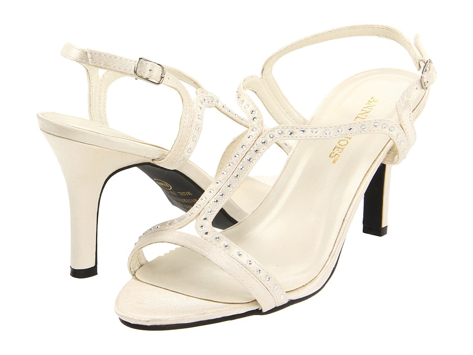 Annie - Adrien (Ivory) Women's Toe Open Shoes