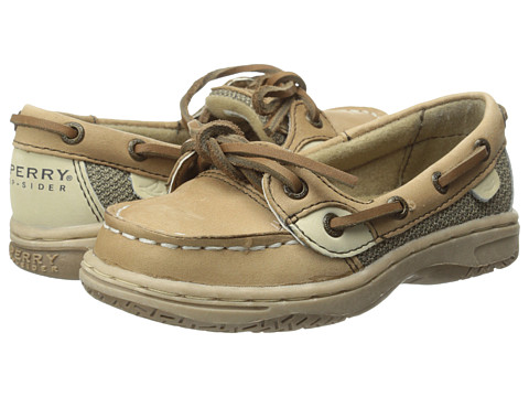 Sperry Top-Sider Kids - Angelfish (Toddler/Youth) (Linen/Oat) Girls Shoes