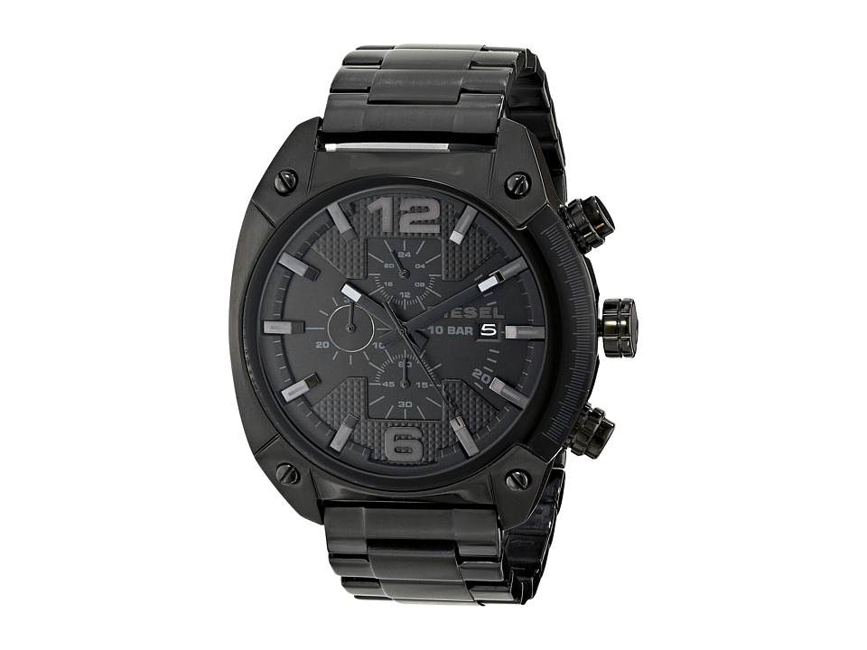 Diesel - DZ4223 (Black/Black) Analog Watches