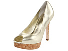 Cole Haan - Mariela Air OT Pump (White Gold/Cork) - Cole Haan Shoes