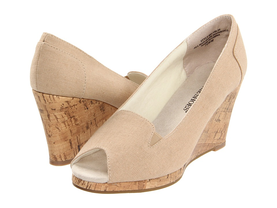 Annie - Tweet (Natural) Women's Wedge Shoes