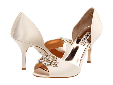 Badgley Mischka - Salsa (Vanilla Satin) High Heels