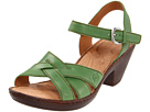Born - Belinda Sandal (Mandelin Full Grain/Green)