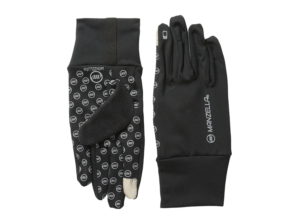 Manzella - Sprint Touch Tip (Black) Ski Gloves